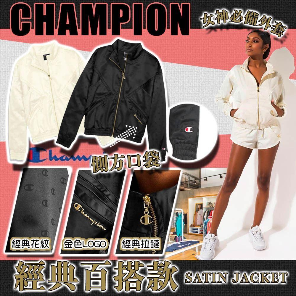 圖片 *貨品已截單* A P4U 3中: Champion Embossed 女裝全拉鏈外套