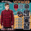 圖片 **貨品已截單**A P4U 3底: Voyager Polar Fleece 男裝內毛襯衫外套