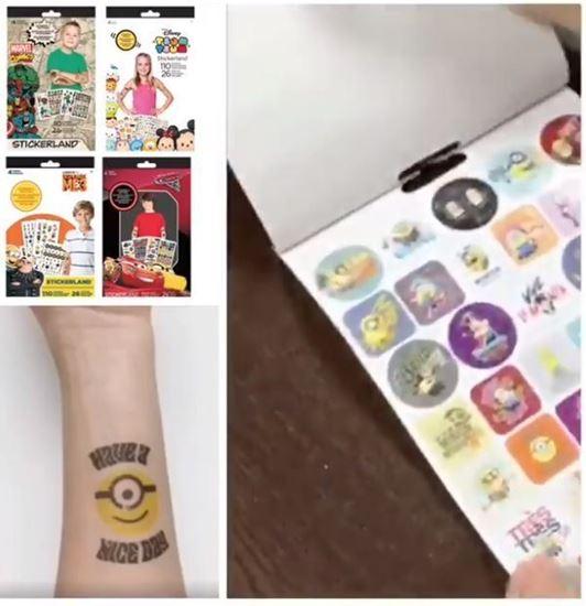 Picture of Disney 貼紙+紋身貼紙