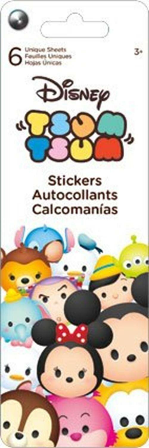 圖片 Disney Tsum Tsum 書簽款貼紙書