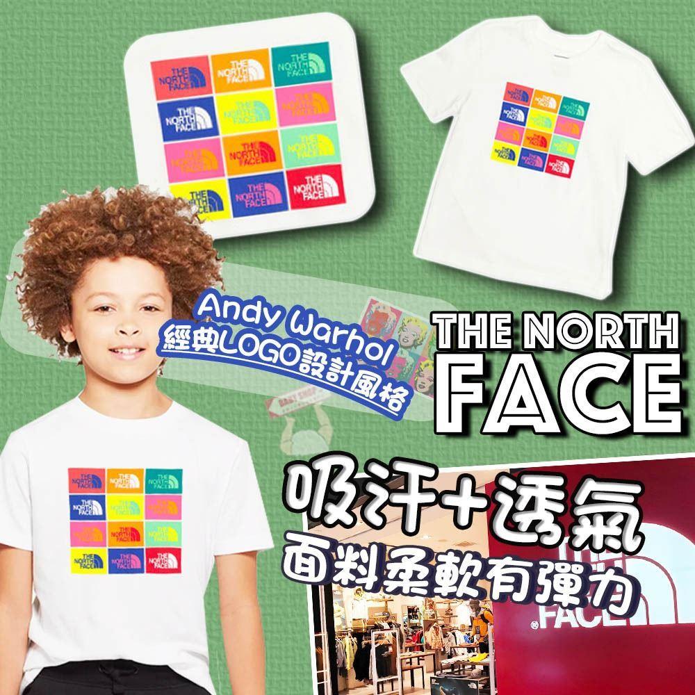 圖片 **貨品已截單**A P4U 4中: The North Face 中童白色短Tee