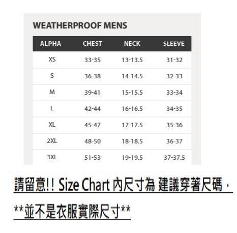 圖片 **貨品已截單**A P4U 4中: Weatherproof Vintage 男裝防水外套