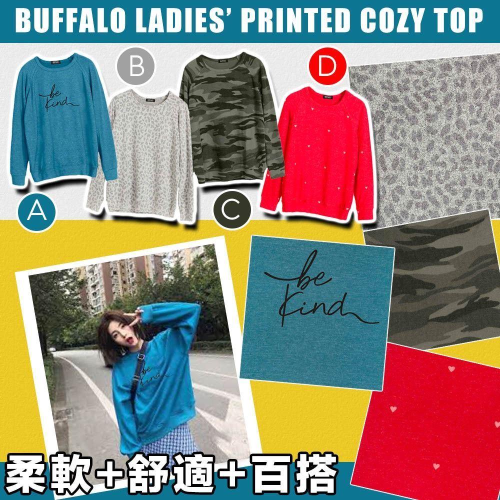 圖片 **貨品已截單**A P4U 4中: Buffalo 女裝印花上衣