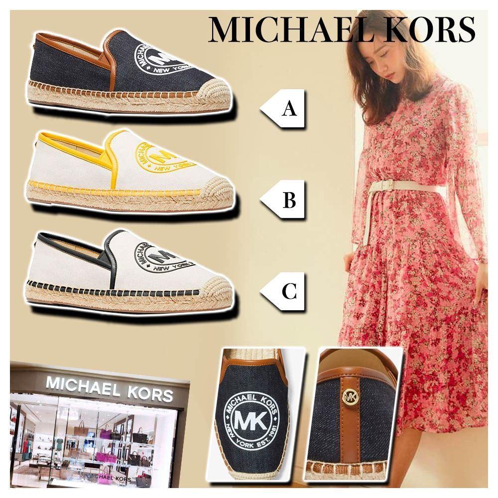圖片 **貨品已截單**A P4U 4中: MICHAEL KORS Hastings 女裝棉帆布鞋