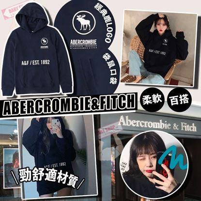 圖片 A P4U 4中: Abercrombie & Fitch Logo大童長袖衛衣外套