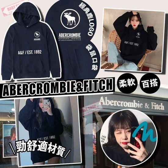 圖片 **貨品已截單**A P4U 4中: Abercrombie & Fitch Logo大童長袖衛衣外套