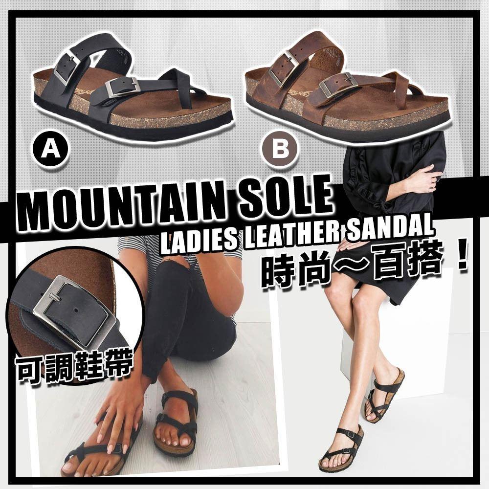 圖片 *貨品已截單* A P4U 4底: Mountain Sole 女裝涼鞋