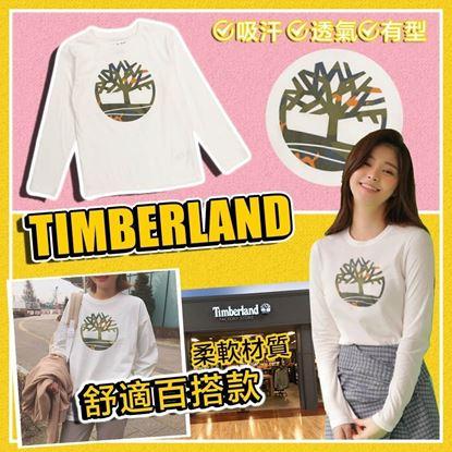 圖片 A P4U 4底: Timberland 中童長袖上衣
