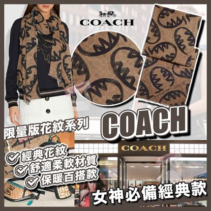 Picture of *貨品已截單* A P4U 空運: Coach Signature Scarf BY Guang Yu女裝頸巾