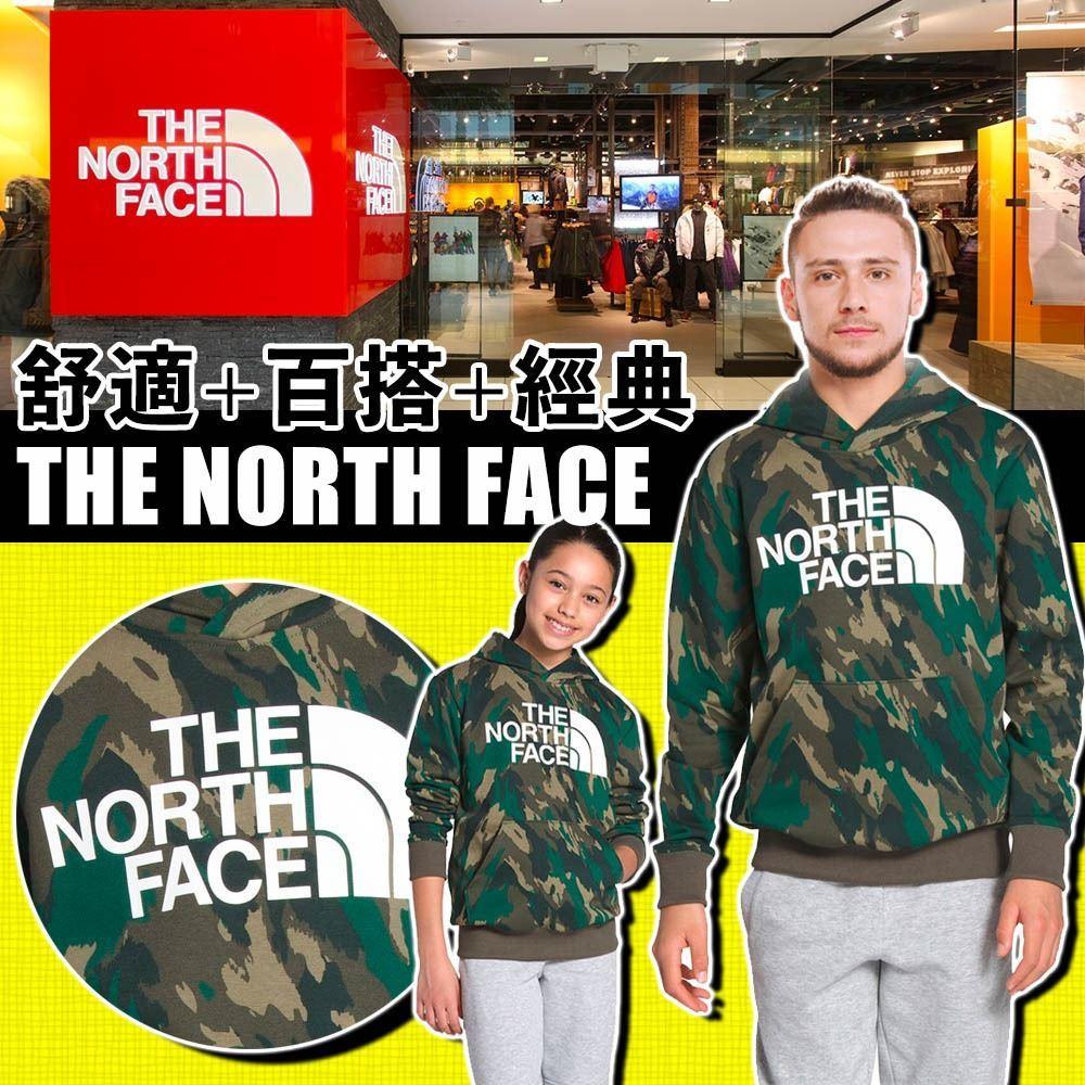 圖片 *貨品已截單* A P4U 5中: The North Face 中童迷彩衛衣