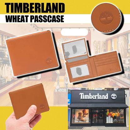 圖片 **貨品已截單**A P4U 5中: Timberland 男裝銀包 (淺啡色)