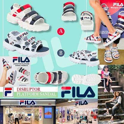 Picture of FILA DISRUPTOR 中童涼鞋 (LOGO款)