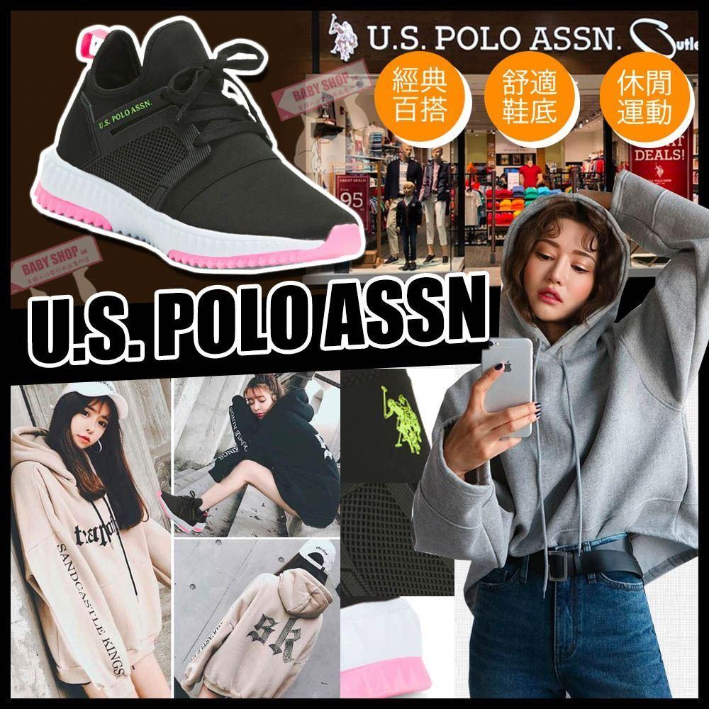 圖片 **貨品已截單**A P4U 5中: US Polo Assn. 女裝網狀運動鞋