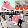 圖片 **貨品已截單**A P4U 5中: US Polo Assn. 女裝粉紅休閒鞋