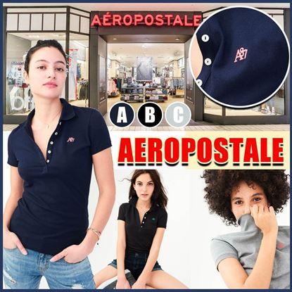 圖片 **貨品已截單**A P4U 5底: Aeropostale 女裝立領Polo上衣