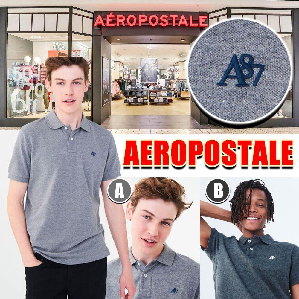 圖片 **貨品已截單**A P4U 5底: Aeropostale Logo男裝Polo上衣