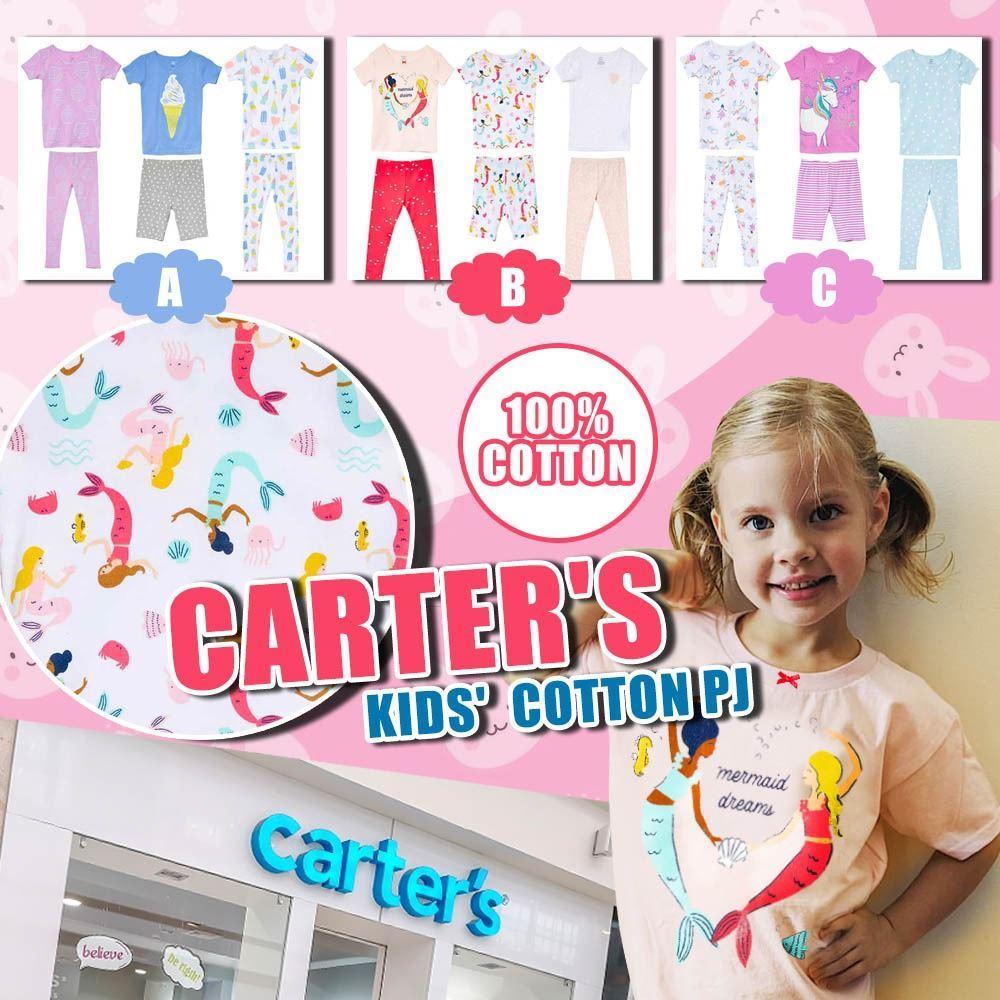 圖片 **貨品已截單**A P4U 5底: Carters 女童一套6件睡衣套裝