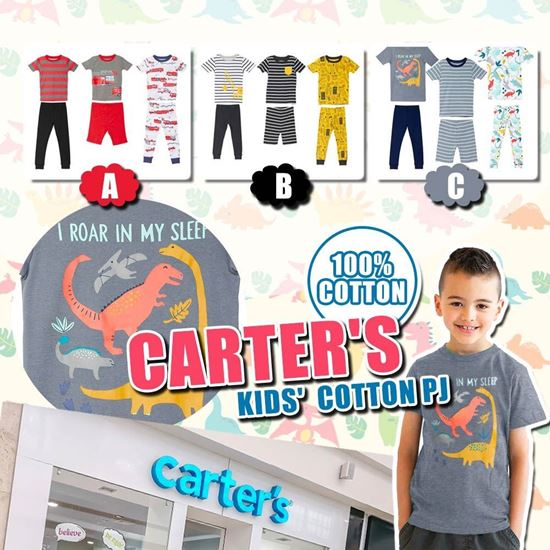 Picture of **貨品已截單**A P4U 5底: Carters 男童一套6件睡衣套裝