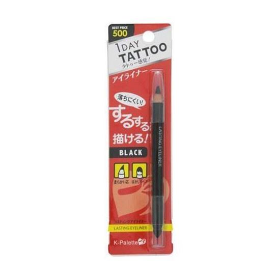 圖片 日本 1Day Tattoo 防水眼線筆  黑色