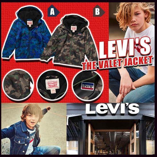 圖片 *貨品已截單* A P4U 6中: Levi's 經典中童風褸