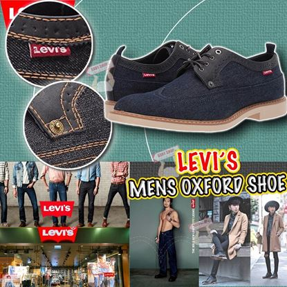 Picture of Levis Casual 男裝牛仔藍鞋 US12