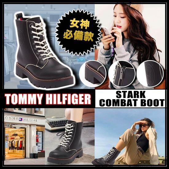 圖片 **貨品已截單**A P4U 6中: Tommy Hilfiger 女裝馬丁靴 US 6