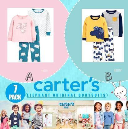 Picture of Carters 3件裝女童長袖厚身家居衣