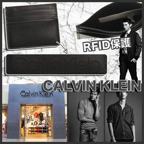 圖片 **貨品已截單**A P4U 6底: Calvin Klein 男士Logo卡包