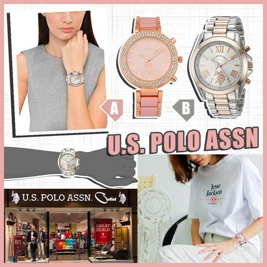 圖片 *貨品已截單* A P4U 6底: U.S. POLO ASSN. 女士手錶