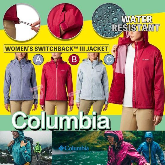 圖片 Columbia 女裝透氣防水風褸