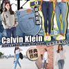 圖片 **貨品已截單**A P4U 6底: Calvin Klein 高腰修身牛仔褲