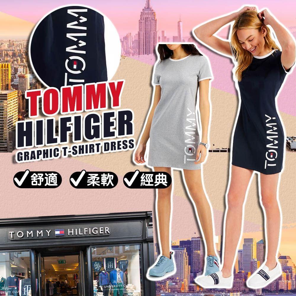 圖片 *貨品已截單* A P4U 6底: Tommy Hilfiger 修身短袖長裙