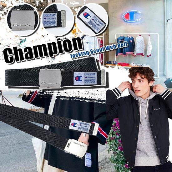 圖片 **貨品已截單**A P4U 7中: Champion 男士皮帶(黑色)