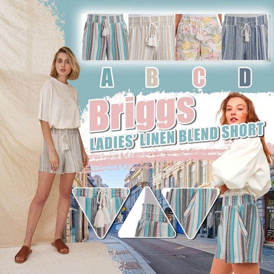 圖片 **貨品已截單**A P4U 7中: Briggs 女裝夏日條紋短褲