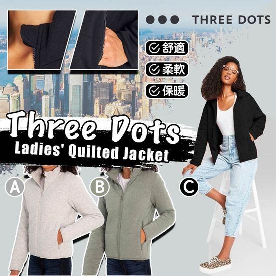 圖片 **貨品已截單**A P4U 7中: Three Dots 女裝秋冬拉鏈外套