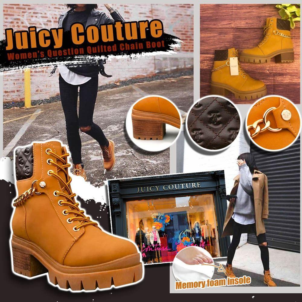 圖片 *貨品已截單* A P4U 7中: Juicy Couture 女裝短靴