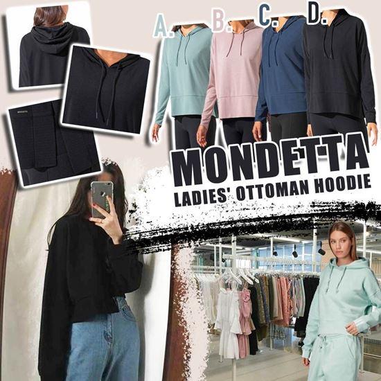 圖片 **貨品已截單**A P4U 7中: Mondetta Ottoman 女裝短款風帽衫