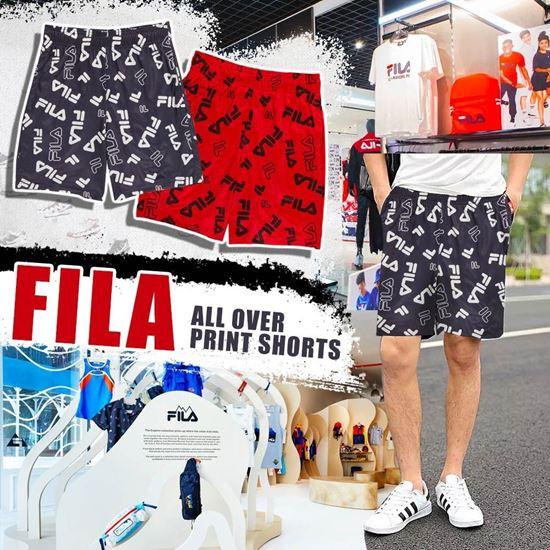 圖片 *貨品已截單*A P4U 7中: FILA Logo 中童短褲