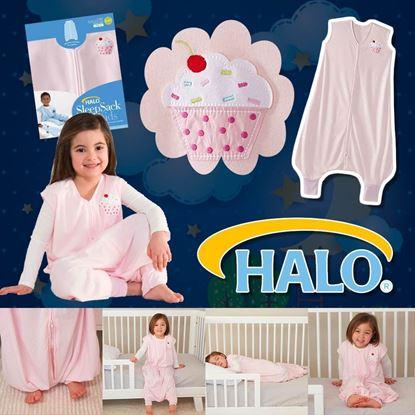 圖片 A P4U 7中: Halo 女童連體睡衣 2-3T