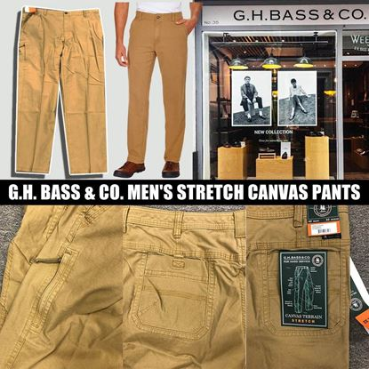 圖片 A P4U 7中: G.H.BASS & CO. 男裝休閒褲 42X32