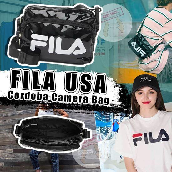 圖片 A P4U 9中: Fila 黑色相機斜咩包