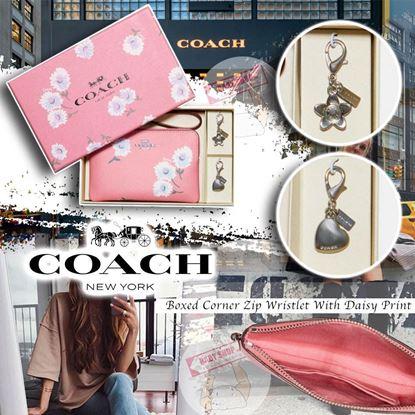 圖片 A P4U 空運: Coach 雛菊手提小銀包禮盒套裝
