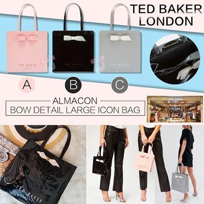 圖片 TED BAKER ALMACON 經典蝴蝶結袋 C款 灰色