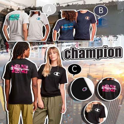 圖片 **貨品已截單**A P4U 7底: Champion C Logo 男裝經典Tee