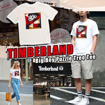 圖片 **貨品已截單**A P4U 7底: Timberland 中童經典Logo白Tee
