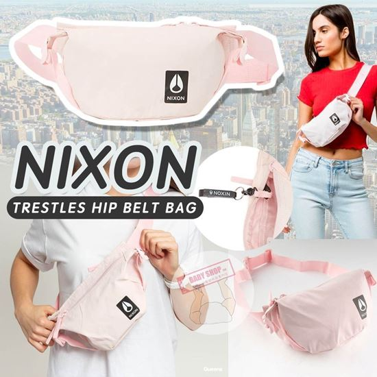 圖片 *貨品已截單* A P4U 7底: Nixon Belt Bag 粉色斜咩腰包