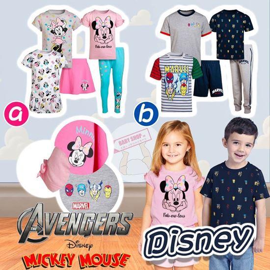 圖片 **貨品已截單**A P4U 7底: Disney 小童一套5件夏日套裝