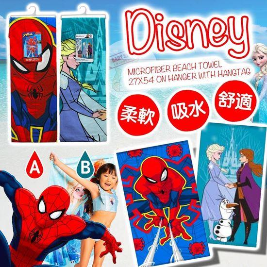 圖片 **貨品已截單**A P4U 7底: Disney 兒童沙灘巾