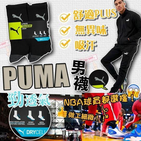 圖片 Puma 1套6對男裝運動長襪