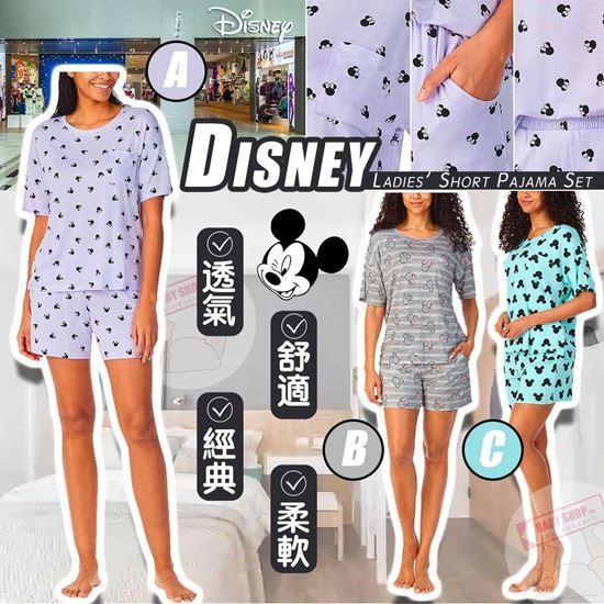 圖片 **貨品已截單**A P4U 8中: Disney 女裝短袖睡衣套裝